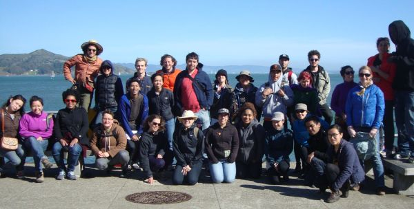 A group shot from our field trip to Sausalito!